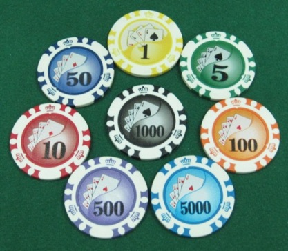 Swee Huat Plastic Co Casino Chips