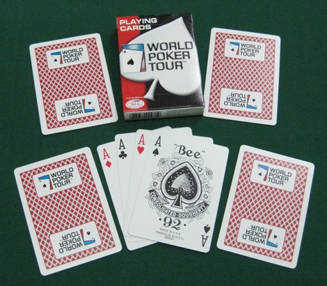Swee Huat Plastic Co Wpt Playing Card