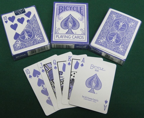 BICYCLE ECO EDITION. BICYCLE LAVENDER DECK
